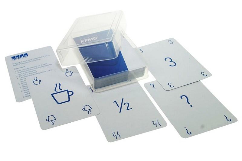 SCRUM kaartspel in plastic doosje